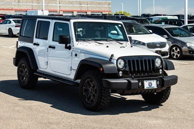 2018 Jeep Wrangler Unlimited JK Willys Wheeler 4WD
