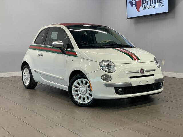 2012 FIAT 500 GUCCI Convertible