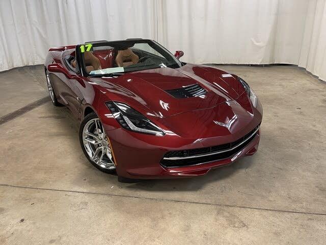 2017 Chevrolet Corvette Stingray 2LT Convertible RWD