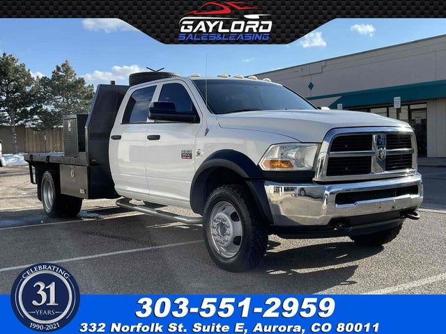 2012 RAM 5500 Chassis Crew Cab 4WD
