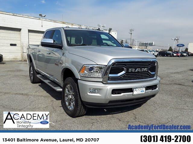 2018 RAM 2500 Laramie Limited Crew Cab 4WD