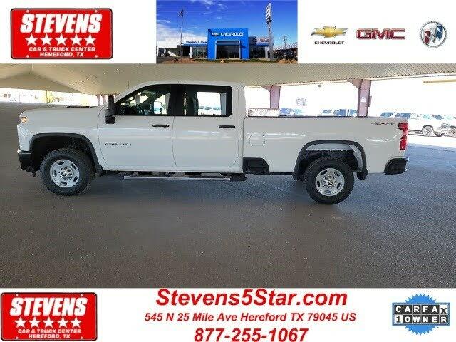 2020 Chevrolet Silverado 2500HD Work Truck Crew Cab 4WD