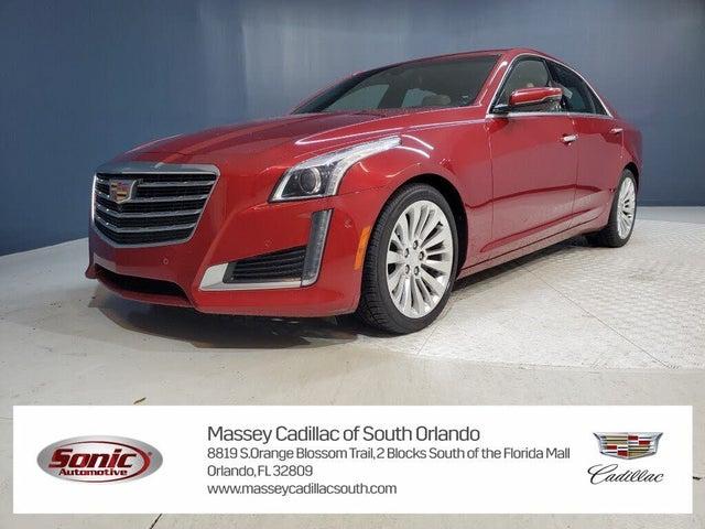 2017 Cadillac CTS 3.6L Premium Luxury RWD