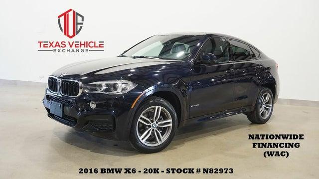 2016 BMW X6 xDrive35i AWD
