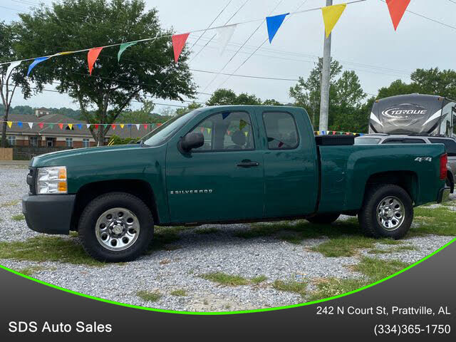 2009 Chevrolet Silverado 1500 Work Truck Extended Cab 4WD