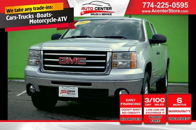 2012 GMC Sierra 1500 SLE Ext. Cab 4WD
