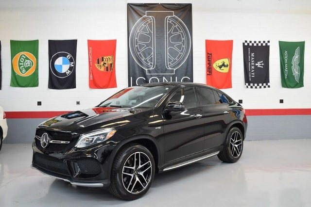 2018 Mercedes-Benz GLE-Class GLE AMG 43 4MATIC Coupe