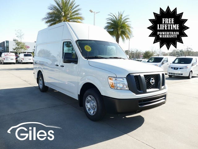 2021 Nissan NV Cargo 2500 HD SV with High Roof V6 RWD