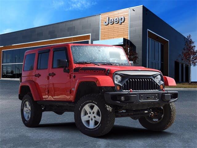 2017 Jeep Wrangler Unlimited Rubicon Recon 4WD