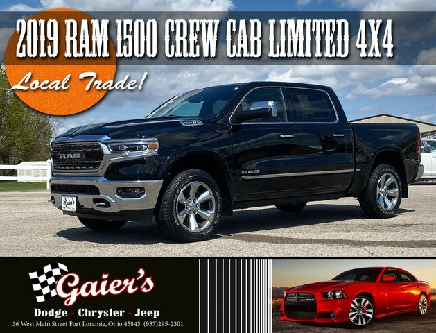 2019 RAM 1500 Limited Crew Cab 4WD
