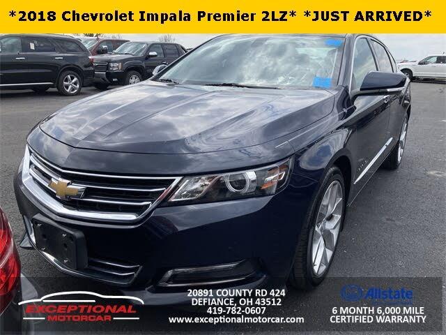 2018 Chevrolet Impala Premier FWD