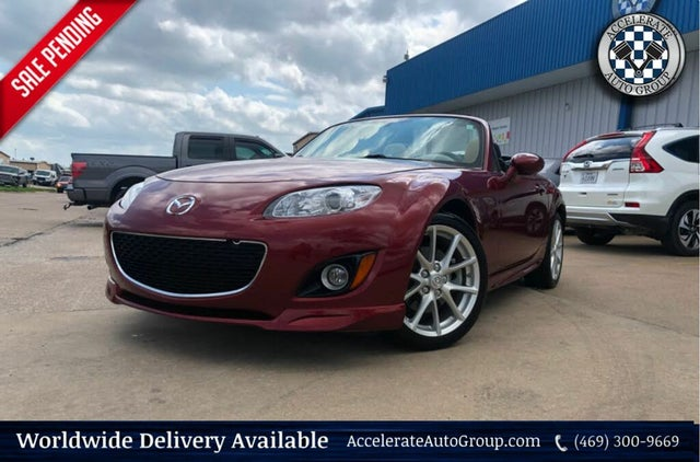 2010 Mazda MX-5 Miata Grand Touring Retractable Hardtop