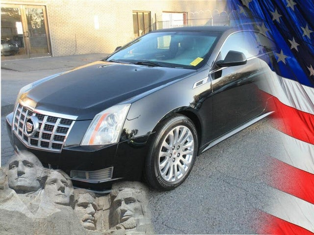 2012 Cadillac CTS Coupe 3.6L RWD