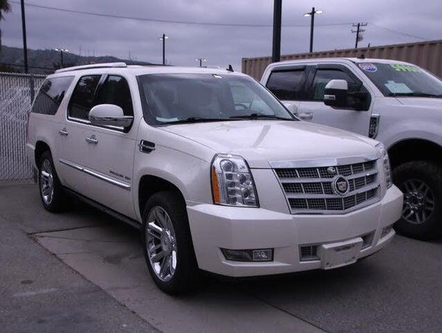 2012 Cadillac Escalade ESV Platinum RWD