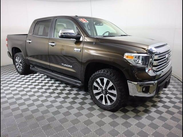 2018 Toyota Tundra Limited CrewMax 5.7L 4WD