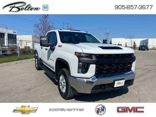 2020 Chevrolet Silverado 2500HD Work Truck Double Cab LB 4WD