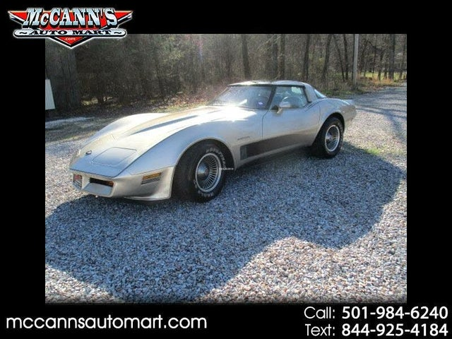 1982 Chevrolet Corvette Collector Edition Coupe RWD