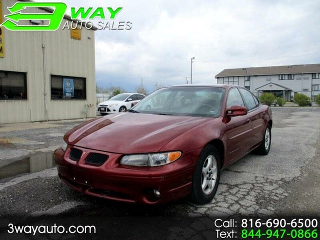 2001 Pontiac Grand Prix SE