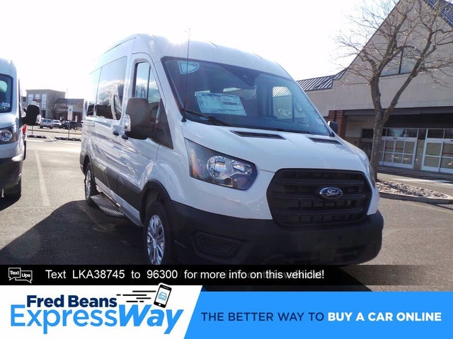 2020 Ford Transit Passenger 150 XL RWD with Sliding Passenger-Side Door
