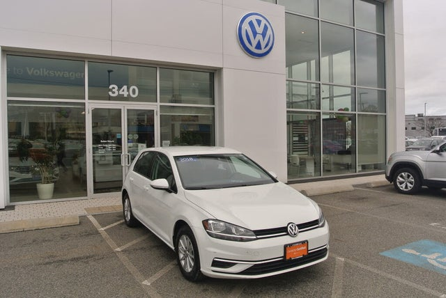 2018 Volkswagen Golf 1.8T S 4-Door FWD