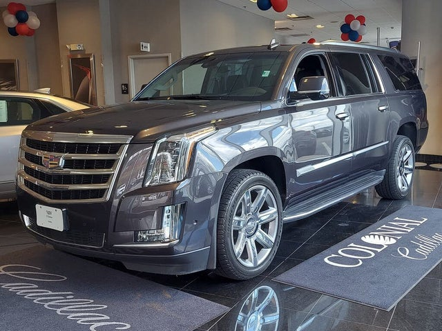 2018 Cadillac Escalade ESV Premium Luxury 4WD