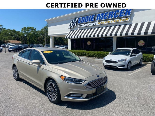 2018 Ford Fusion Platinum AWD