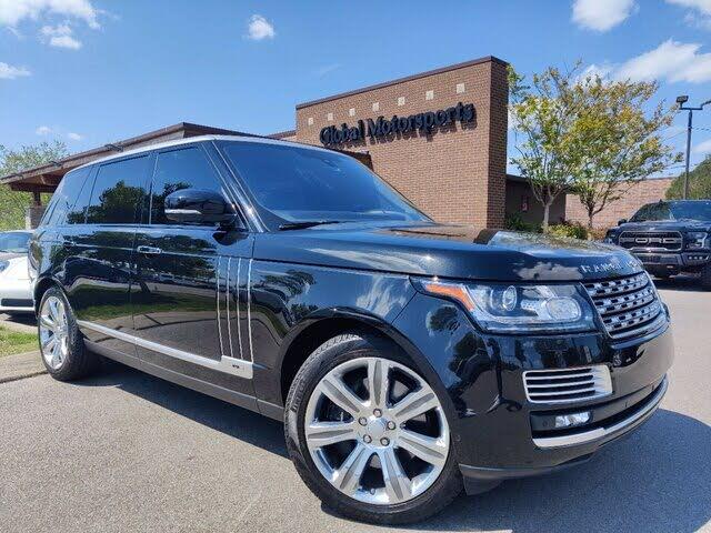 2016 Land Rover Range Rover V8 SVAutobiography LWB 4WD