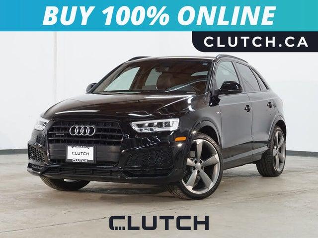 2018 Audi Q3 2.0T quattro Technik AWD