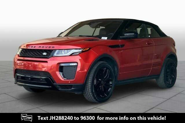 2018 Land Rover Range Rover Evoque HSE Dynamic Convertible AWD