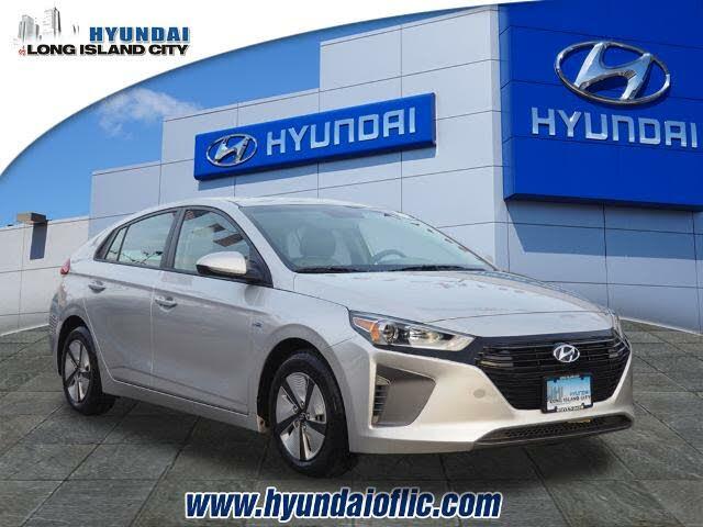 2017 Hyundai Ioniq Hybrid Blue Hatchback FWD