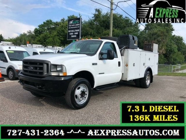 2002 Ford F-550 Super Duty Chassis DRW RWD