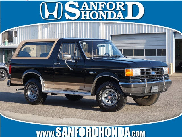 1990 Ford Bronco Eddie Bauer 4WD