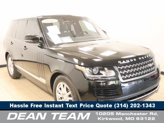 2016 Land Rover Range Rover Td6 4WD