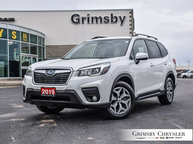 2019 Subaru Forester 2.5i Touring AWD with EyeSight Package