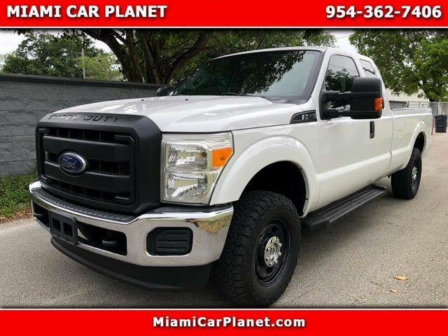 2015 Ford F-250 Super Duty XL SuperCab 4WD