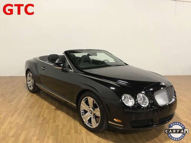 2008 Bentley Continental GTC W12 AWD