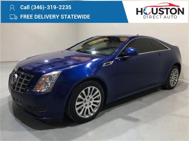 2012 Cadillac CTS Coupe 3.6L AWD