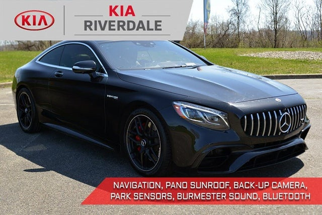 2018 Mercedes-Benz S-Class Coupe S 63 AMG 4MATIC