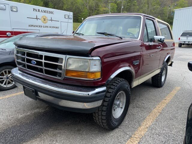 1992 Ford Bronco Eddie Bauer 4WD