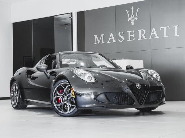 2016 Alfa Romeo 4C Spider RWD