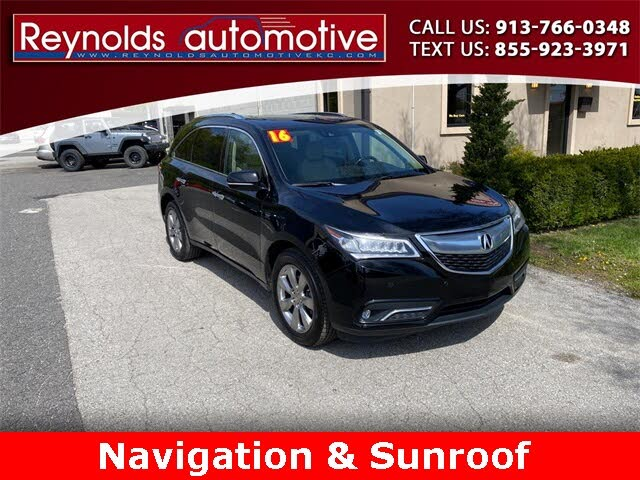 2016 Acura MDX SH-AWD with Advance Package