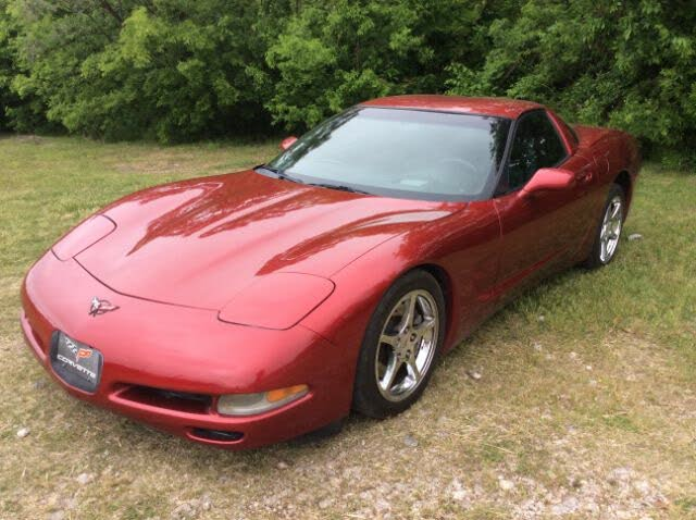 2002 Chevrolet Corvette Coupe RWD