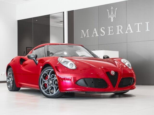2015 Alfa Romeo 4C Launch Edition Coupe RWD