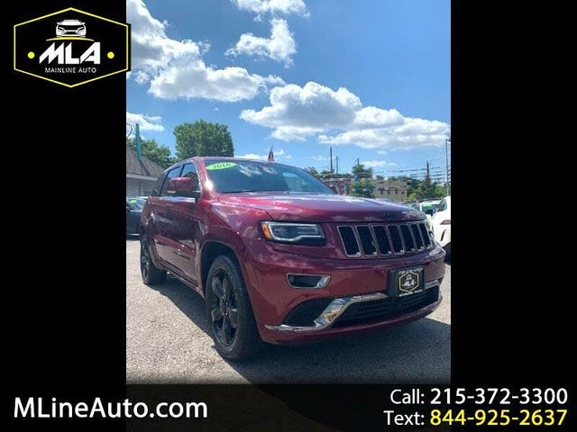 2016 Jeep Grand Cherokee High Altitude 4WD