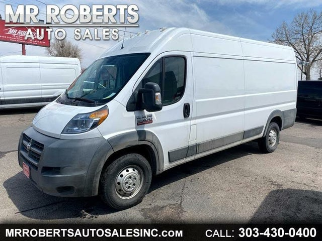 2016 RAM ProMaster 3500 159 High Roof Extended Cargo Van with Window