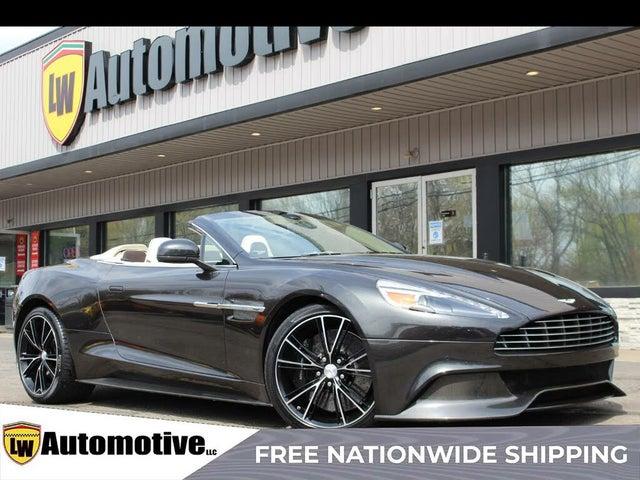 2014 Aston Martin Vanquish Volante Convertible RWD