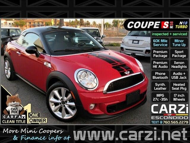 2012 MINI Cooper Coupe S FWD