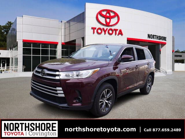2019 Toyota Highlander LE Plus FWD