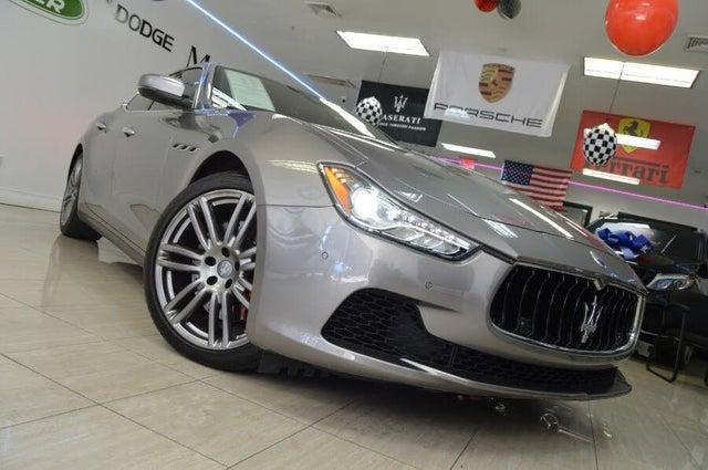 2017 Maserati Ghibli S Q4 3.0L AWD