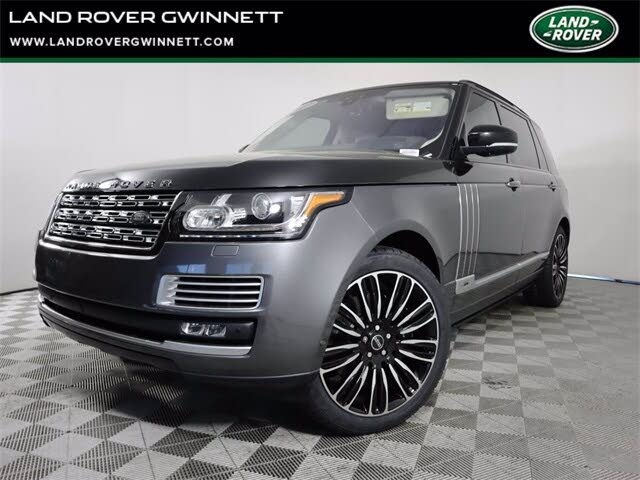 2017 Land Rover Range Rover V8 SVAutobiography LWB 4WD